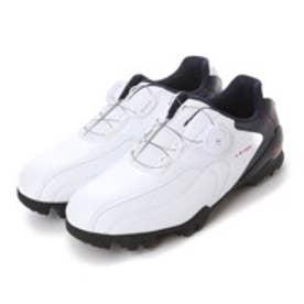 ミズノ MIZUNO ダイヤル式ゴルフシューズ 51GM152791 ホワイト