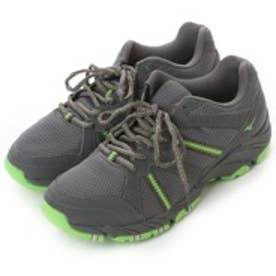 ロコンド 靴とファッションの通販サイトミズノMIZUNOウォーキングシューズB1GA140135グレー1247(グレーxグリーン)