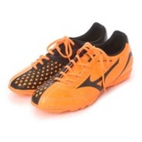 ミズノ MIZUNO サッカートレーニングシューズ イグニタス4AS P1GD163254 オレンジ 3132 (オレンジ×ブラック)