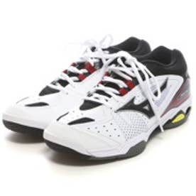 ミズノ MIZUNO テニスシューズ(オールコート用) 61GA153009 ホワイト