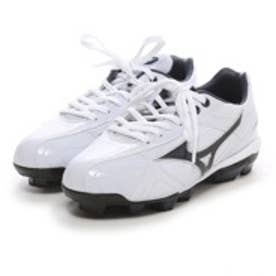 ミズノ MIZUNO ジュニア野球スパイク 11GP144114 ホワイト 823