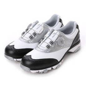 ミズノ MIZUNO ゴルフシューズ NEXLITE 003 Boa(W) 51GW161009225 788 (ホワイト×ブラック)