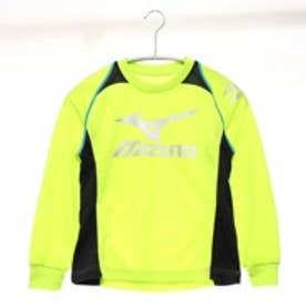 ミズノ MIZUNO ジュニアシャツ  32JA5932 イエロー (イエローグリーンBK)