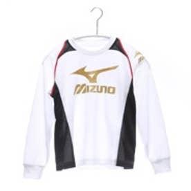 ミズノ MIZUNO ジュニアシャツ  32JA5932 ホワイト (ホワイトBK)