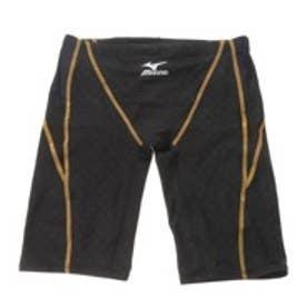 ミズノ MIZUNO 競泳水着 MZ N2MB5040SSMS ブラック (ブラック×ゴールド)
