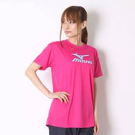 ミズノ MIZUNO バレーボールTシャツ プラクティスシャツ V2MA608464  (ベリーピンク)