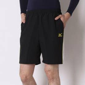 ミズノ MIZUNO テニスパンツ ゲームパンツ(ハーフ丈) A75RH39198  (ブラック×ライム)