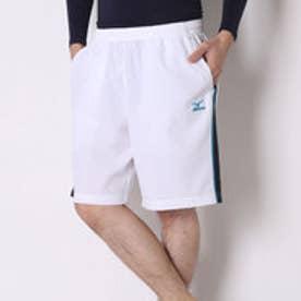 ミズノ MIZUNO テニスパンツ ゲームパンツ(ハーフ丈) A75RH39175  (ホワイト×ブルー)