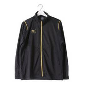 ミズノ MIZUNO ユニセックス 長袖ジャージジャケット ウォームアップシャツ(SMU) 32JC652109 (ブラック)