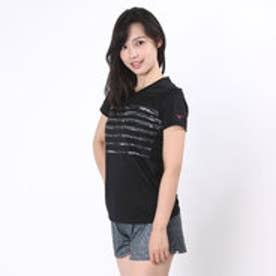 ミズノ MIZUNO レディースランニング半袖Tシャツ  MZ J2MA6206 16S  (ブラック)