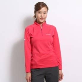 モンベル montbell アウトドアTシャツ クール ロングスリーブジップシャツ 1104931 ピンク