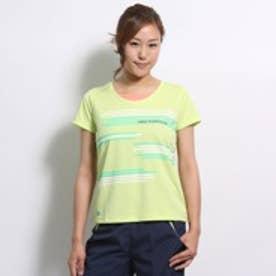 ニューバランス new balance テニスシャツ NBS-51041W グリーン
