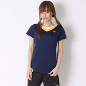 ニューバランス new balance レディース テニス 半袖Tシャツ VネックショートスリーブゲームTシャツ JWTT6032