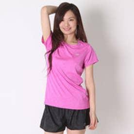 ニューバランス new balance レディースランニング半袖Tシャツ JWT53180  JWT53180 (アザレアヘザー)