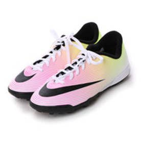 ナイキ NIKE ジュニアサッカートレーニングシューズ ジュニア マーキュリアル ボルテックス II TF 651644107 2799 (ホワイト×ブラック)