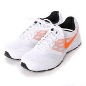 ナイキ NIKE ランニングシューズ エア リレントレス 4 MSL 685139 ホワイト 0254 (ホワイト×オレンジ)