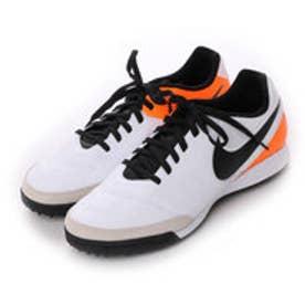 ナイキ NIKE サッカートレーニングシューズ ティエンポ ジェニオ II レザー TF 819216108 3240 (ホワイト×ブラック)