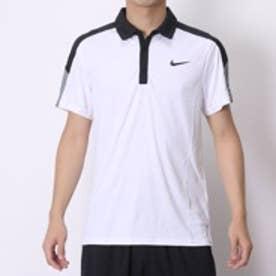 ナイキ NIKE テニスポロシャツ チームコート ポロ 644789100 ホワイト  (ホワイト×ブラック)