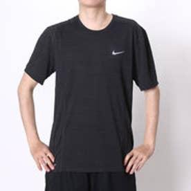 ナイキ NIKE メンズ半袖Tシャツ ナイキ DRI-FIT クール マイラー S/S トップ 718349-010  (ブラックパイン×ブラック×(リフレクティブシルバー))