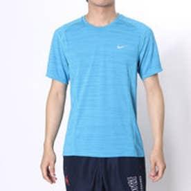 ナイキ NIKE メンズ半袖Tシャツ ナイキ DRI-FIT クール マイラー S/S トップ 718349-418  (オメガブルー×ライトフォトブルー×(リフレクティブシルバー))
