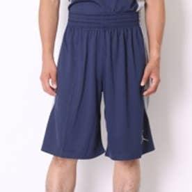 ナイキ NIKE バスケットボールプラクティスパンツジョーダンジャンプマンゲームショート688534410ミッドナイトネイビー×メタリックSV (ネイビー)