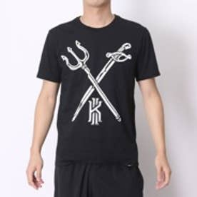 ナイキ NIKE バスケットボールTシャツ ナイキ カイリー キラー クロスオーバー S/S Tシャツ 742681677   (ブラック)
