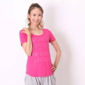 ナイキ NIKE Tシャツ ウィメンズ DON'T GIVE UP Tシャツ 688585 ピンク (ローズ)