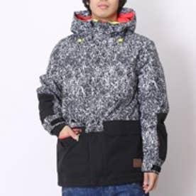 オニール O'NEILL メンズボードジャケット  ON GINGA JK ブラック (ブラック×ライトグレー)