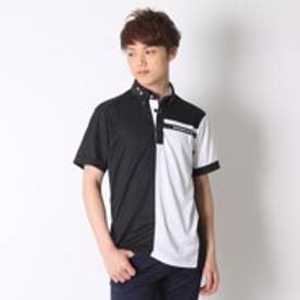 オークリー OAKLEY ゴルフシャツ Bark Center Block Shirt 433630JP ブラック (Jet Black)