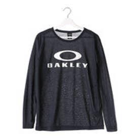 オークリー OAKLEY メンズ 長袖機能Tシャツ Enhance Technical QD LS Tee.03 456211JP (ネイビー)