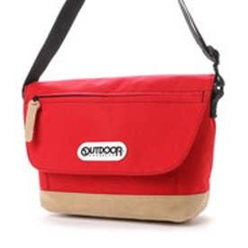 アウトドアプロダクツ OUTDOOR PRODUCTS ショルダーバッグ クラシック ミニメッセンジャーバッグ 22409706 (レッド)