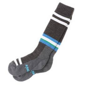 フェニックス PHENIX レディース スキー/スノーボード ソックス Line Socks PS688SO63 (CHARCOAL GRAY)