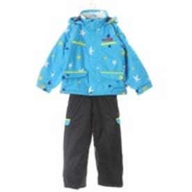 ポケットベアー POCKET BEAR ジュニアスキーツーウェア ツーピース トドラースーツ 15PBT-2616 ブルー