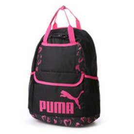 プーマ PUMA デイパック  PM 074357DY 23L               (ブラック×ピンク)