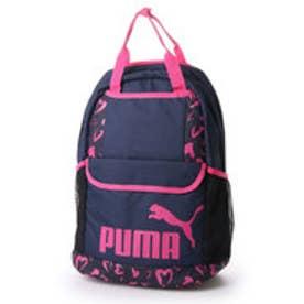 プーマ PUMA デイパック  PM 074357DY 23L               (ネイビー×ピンク)