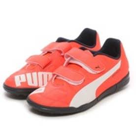 プーマ PUMA ジュニアサッカートレーニングシューズ エヴォスピード 5.4 TT V JR evoSPEED 5.4TT 103289 オレンジ 2678 (オレンジWH)