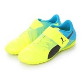 プーマ PUMA ジュニアサッカートレーニングシューズ エヴォパワー 4.3 TT V JR evoPOWER 4.3 TT 103566(セーフティ イエロー×アトミック ブルー)