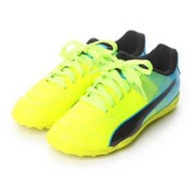プーマ PUMA ジュニアサッカートレーニングシューズ アドレーノ II TT JR Adriano 103475 2789 (セーフティ イエロー×アトミック ブルー)