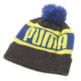 プーマ PUMA ニット帽 834032 Jニット グレー (ダークグレー)