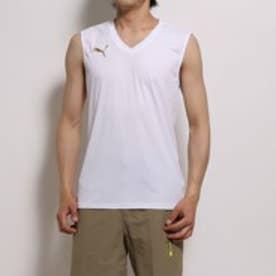 プーマ PUMA サッカーインナーシャツ 653672 ホワイト