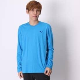 プーマ PUMA Tシャツ LS TEE M AP 2 839640 ブルー (ブルー)