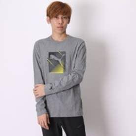 プーマ PUMA Tシャツ LS TEE M AP 1 839639 グレー (グレー)