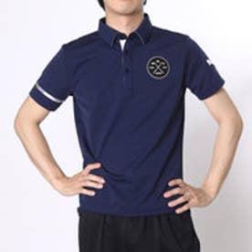 プーマ PUMA ゴルフシャツ ゴルフ SS ワイドカラー ポロシャツ 923332 ネイビー (ピーコート)