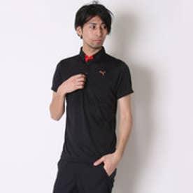 プーマ PUMA ゴルフシャツ ゴルフ SS ポロシャツ ALPEN SMU 923408 ブラック (ブラック)