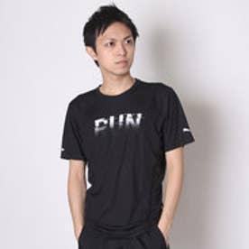 プーマ PUMA メンズ半袖Tシャツ RUN SS TEE 514467 (BLACK)