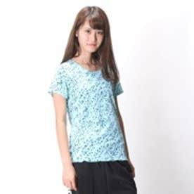 プーマ PUMA レディス ランニングシャツ グラフィック SS TEE 513552 ブルー (ペールブルー)