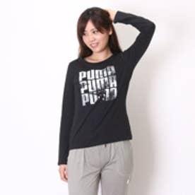 プーマ PUMA Tシャツ LS TEE W AP 2 839641 ブラック (ブラック)