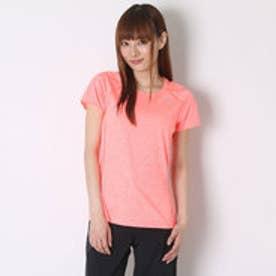 プーマ PUMA レディースランニング半袖Tシャツ SS TEE 514390 (FLURO PEACH H)