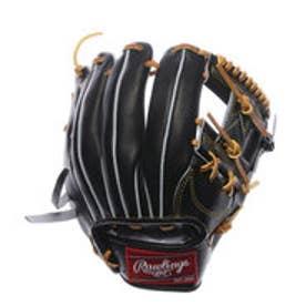 ローリングス Rawlings ユニセックス 軟式野球 野手用グラブ プロプリファードJAPAN 軟式用 プロプリファードJAPAN J00574029 (ブラック)