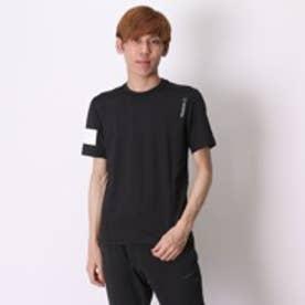 リーボック REEBOK Tシャツ ワンシリーズ ボンデッドストレッチ ショートスリーブTシャツ BQ419 ブラック (ブラック)